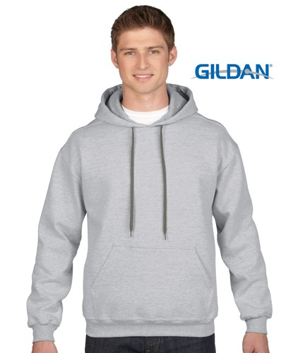 Ring Spun Fleece Adult Hooded Sweatshirt