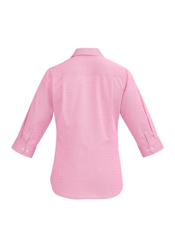 Ladies Hudson 3/4 Sleeve Shirt Melon