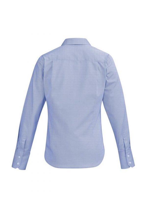Ladies Hudson Long Sleeve Shirt Patriot Blue