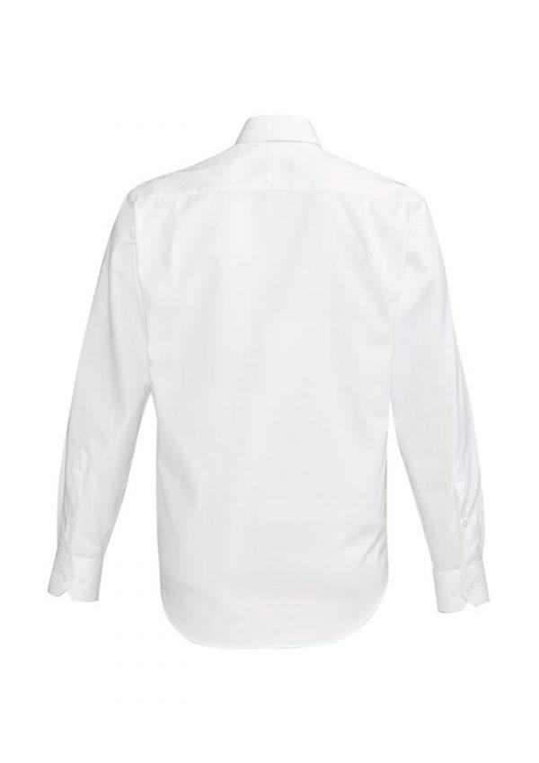 Mens Hudson Long Sleeve Shirt White