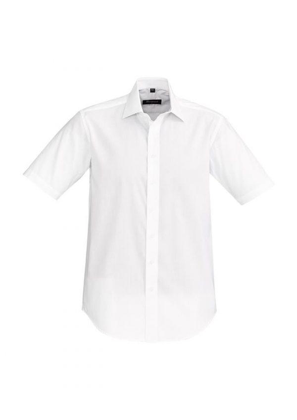 Ladies Hudson Shirt Sleeve Shirt White