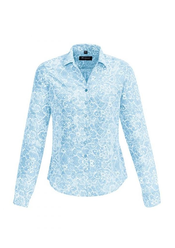 Ladies Solanda Long Sleeve Print Shirt