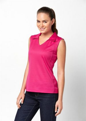 Sleevless ladies Polo