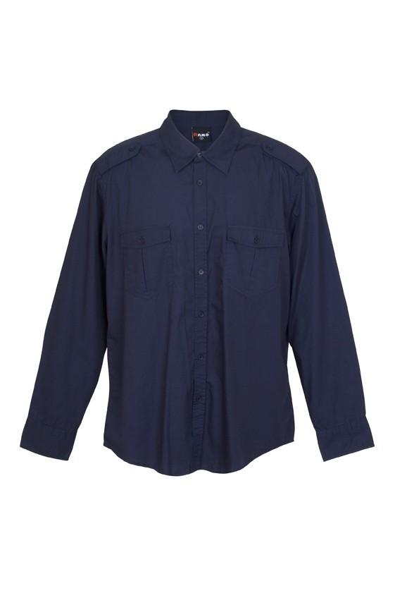 Mens Military Long Sleeve Shirt
