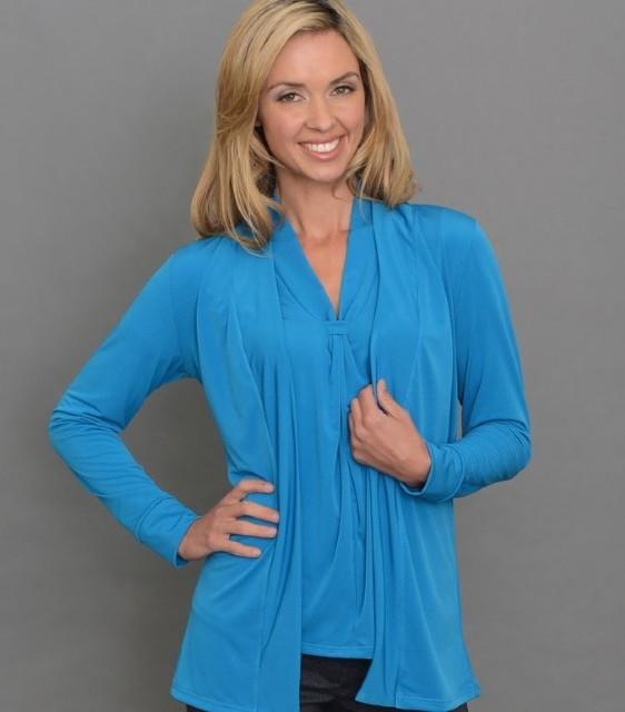 Ladies Long Sleeve Jacket