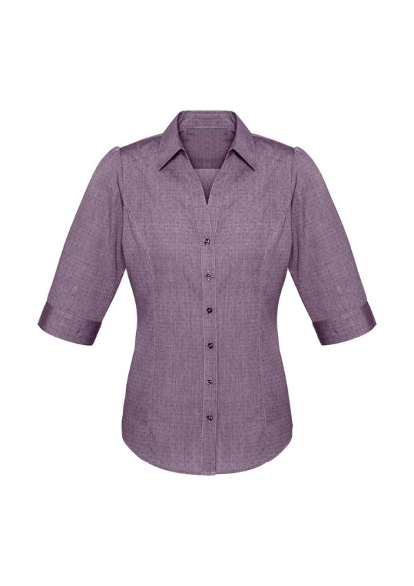 Ladies Trend Shirt Plum