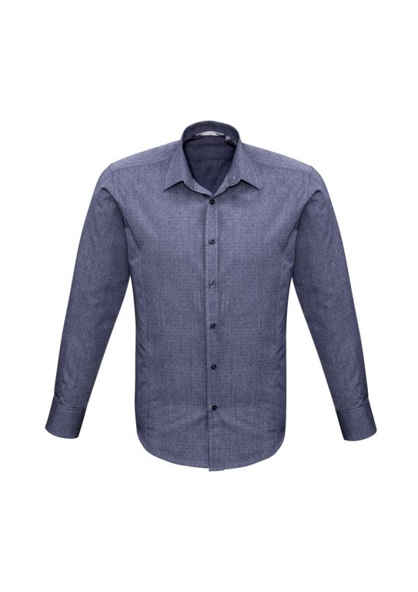 Men's Trend Shirt LS Midnight Blue