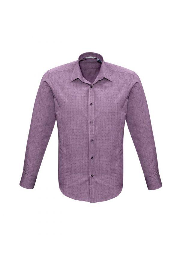 Men's Trend Shirt LS Plum