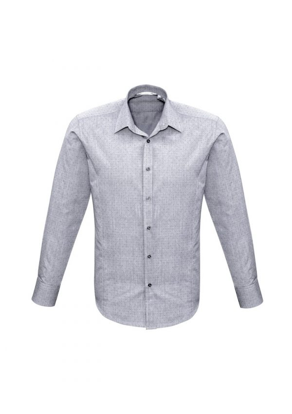Men's Trend Shirt LS Silver