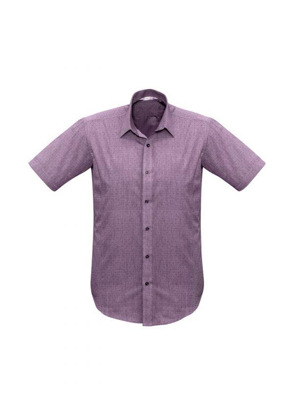 Men's Trend Shirt SS Plum