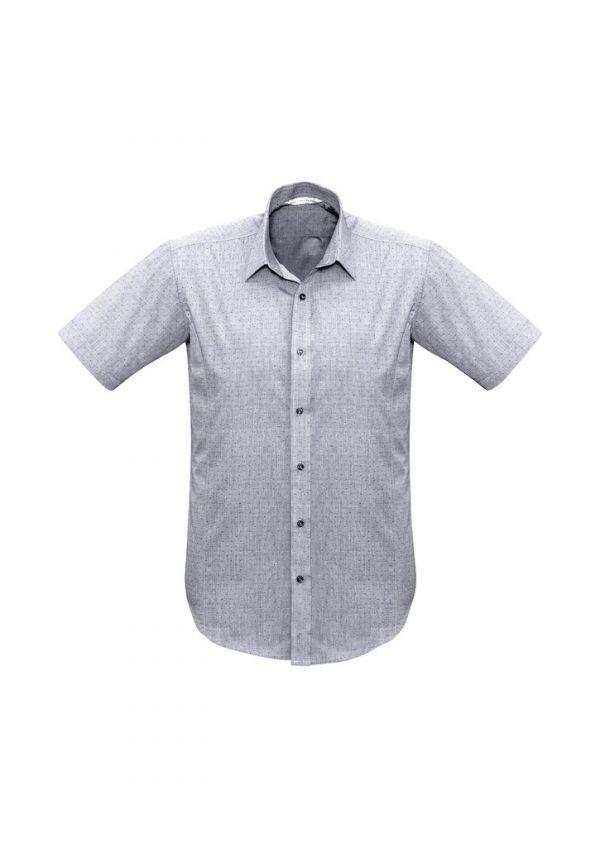 Men's Trend Shirt SS Silver