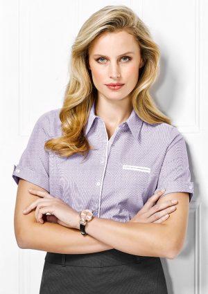 Ladies Calais Short Sleeve Shirt