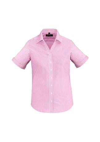 Ladies Vermont Short Sleeve Shirt Melon