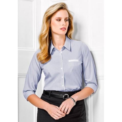 Ladies Calais 3/4 Sleeve Shirt