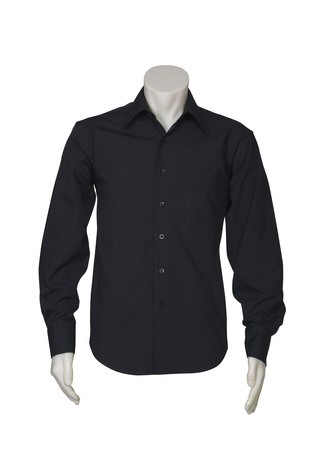 Metro Mens Shirts Black