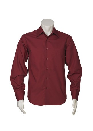 Metro Mens Shirts Cherry