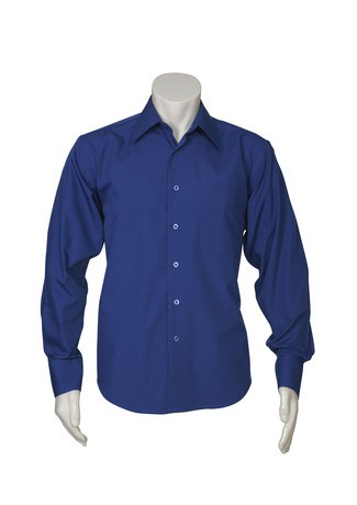Metro Mens Shirts Mid Blue