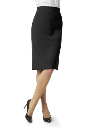 Classic below knee skirt