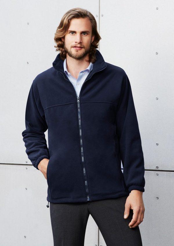 Plain Mens Fleece Jacket