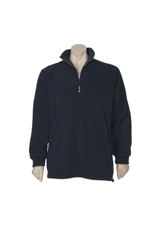 Heavy weight Mens 1/2 zip fleece