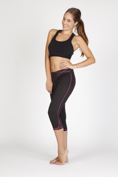 Ladies Contrast Stitch Legging
