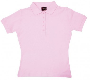 Ladies Cotton Pigment Dyed Polo