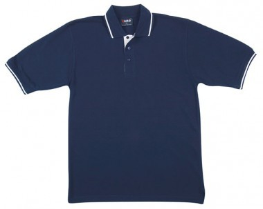 Mens Single Stripe Trim Polp