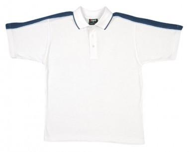 Mens Shoulder Panel Polo Shirt