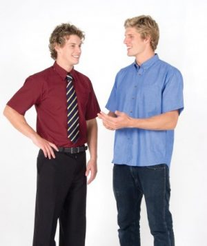 Mens Long & Short Sleeve Oxford Shirt