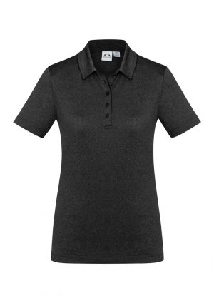 Aero womens Polo black