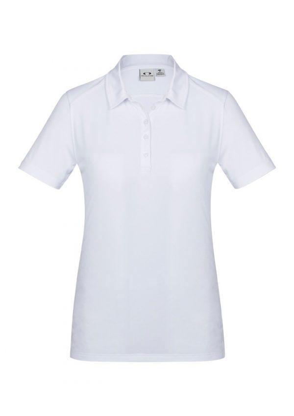Aero womens Polo white