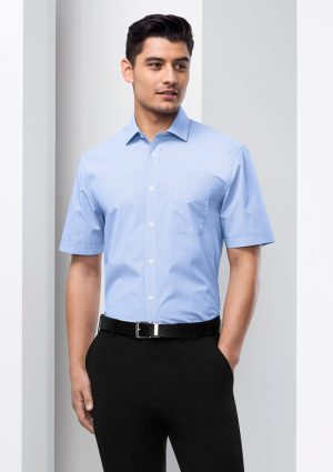Mens Euro Short Sleeve Shirt
