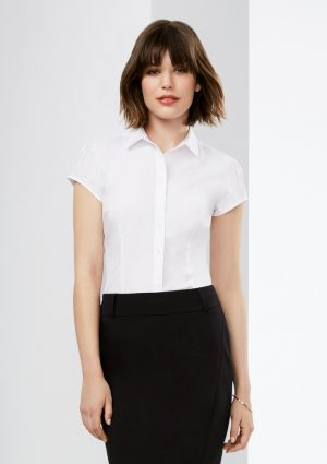 Ladies Euro Short Sleeve Shirt
