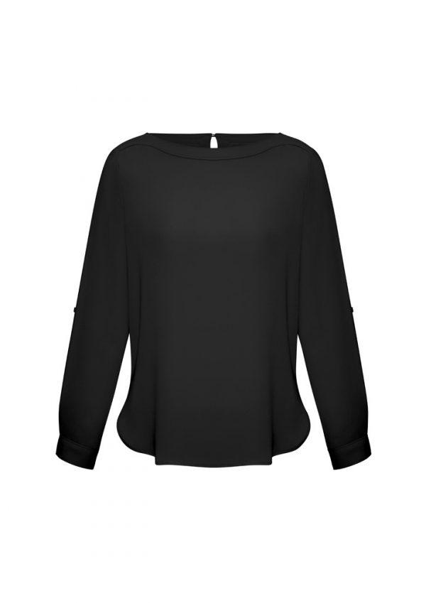 Madison Ladies Shirt Black