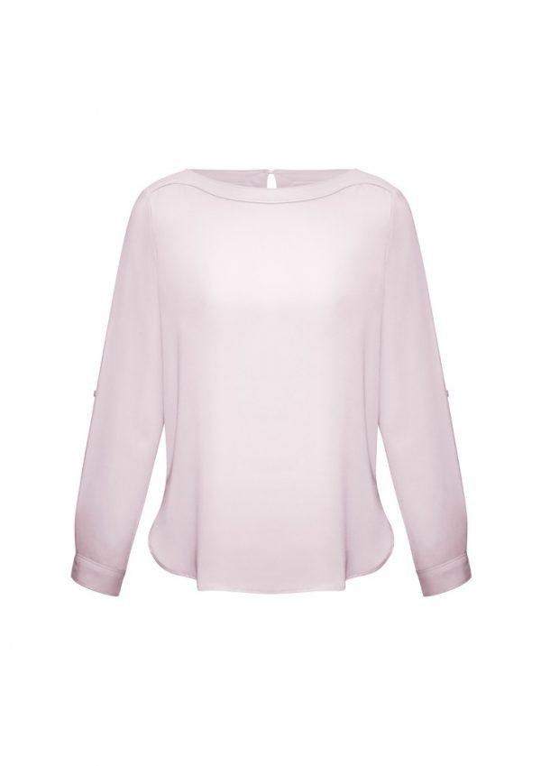 Madison Ladies Shirt Blush Pink