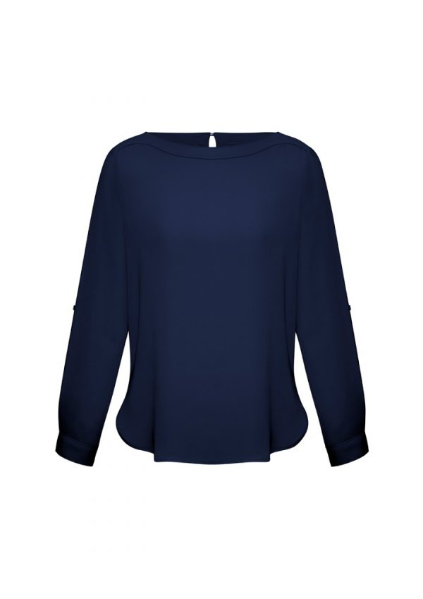 Madison Ladies Shirt Midnight Blue