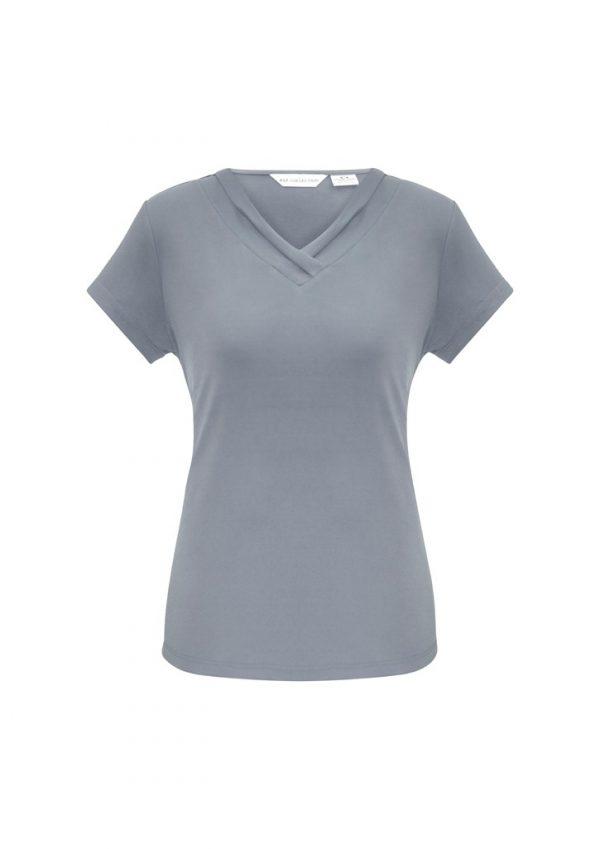Ladies Lana Shirt Sleeve Shirt Silver
