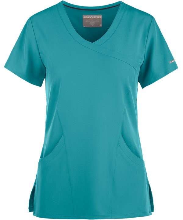 Sketchers Reliance Top Teal