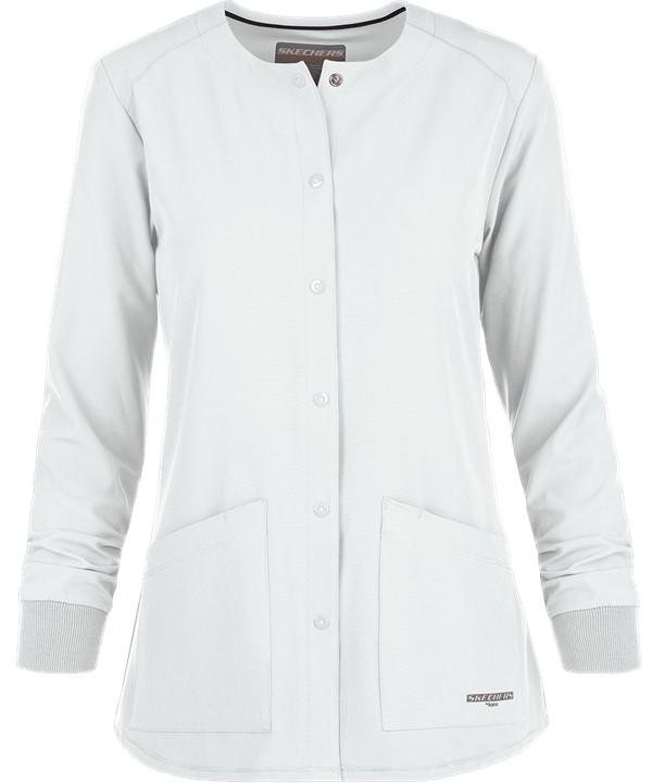 Sketchers Stability Warm-Up White