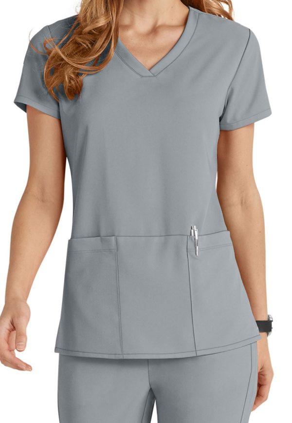 Grey's Anatomy Signature Scrub Top Moonstruck