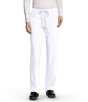 Grey's Anatomy Signature Scrub Pant White
