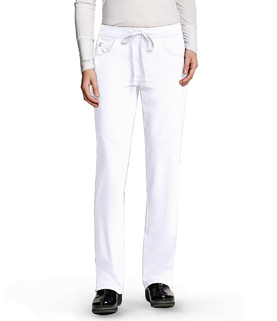 Grey's Anatomy Signature Scrub Pant White