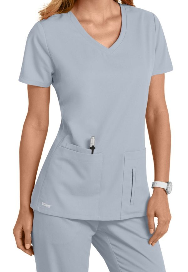 Grey's Anatomy Active Scrub Top Moonstruck
