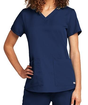 Grey's Anatomy Scrub Top Indigo