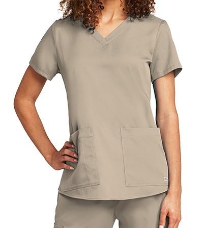 Grey's Anatomy Scrub Top Khaki