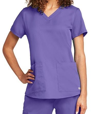 Grey's Anatomy Scrub Top Purple Passion