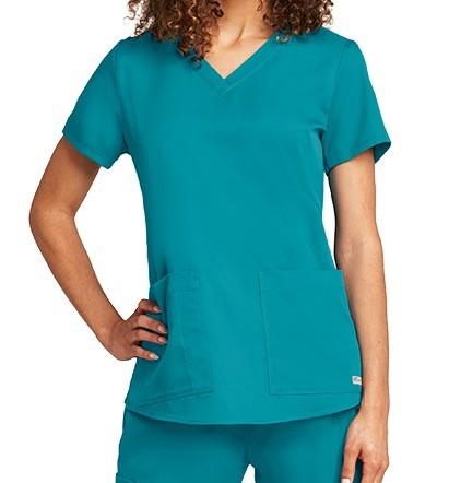 Grey's Anatomy Scrub Top Teal