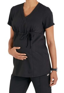 Grey's Anatomy Maternity Top Black