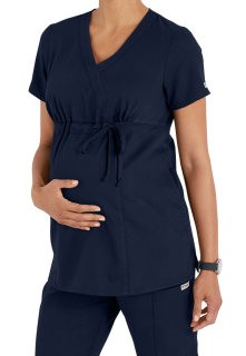 Grey's Anatomy Maternity Top Indigo
