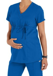 Grey's Anatomy Maternity Top New Royal
